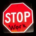 Nurses stop work