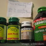 Pharmacy vitamins and supplements