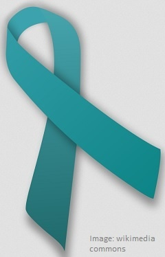 Teal Ribbon Day ovarian cancer