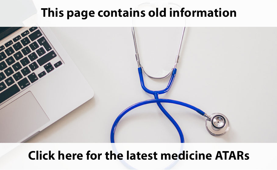 What's the ATAR or OP score for medicine in Australia? - My Health
