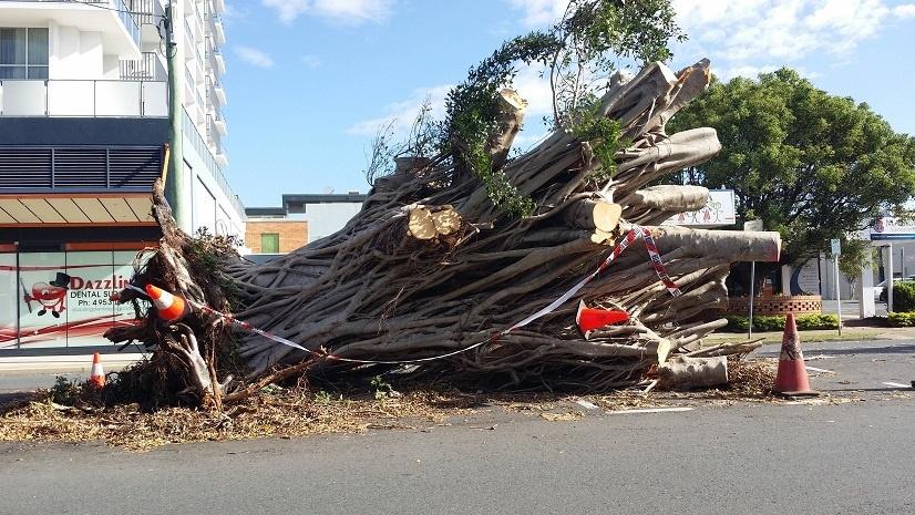 Mackay after cyclone Debbie